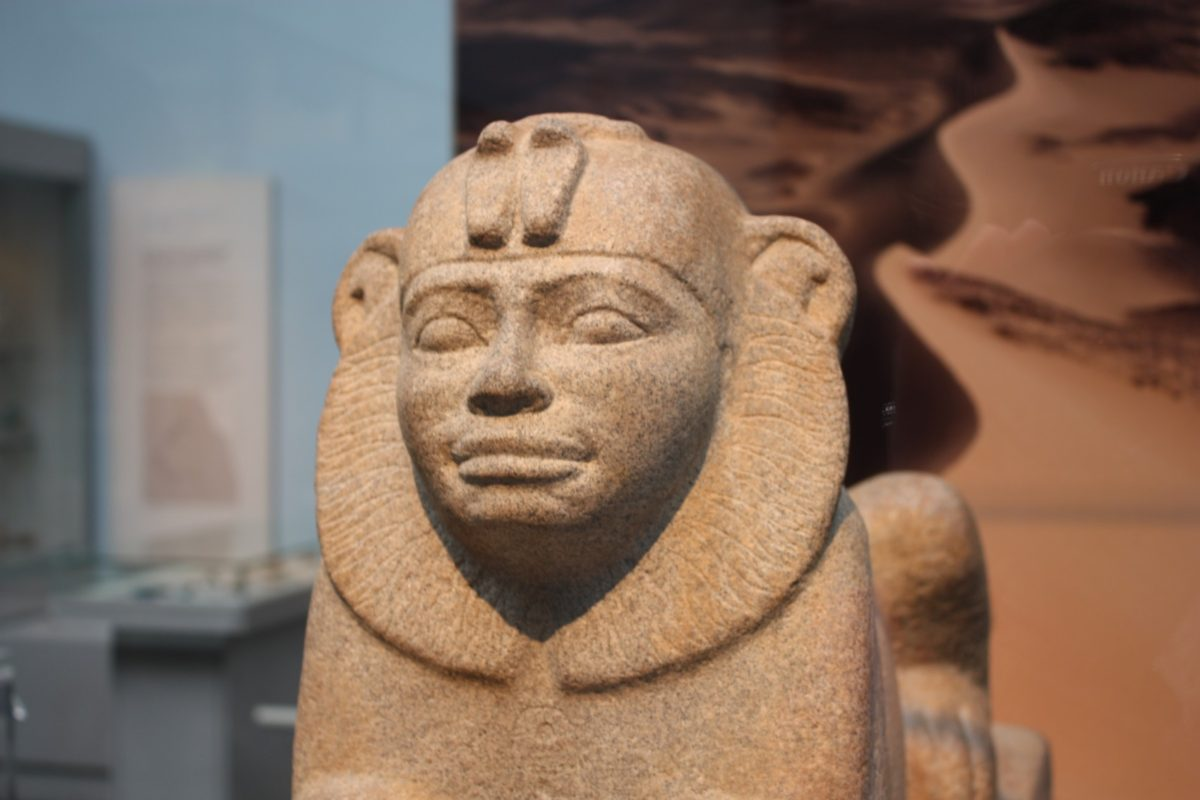 A statement from the British Museum concerning their policy on displaying Kemet