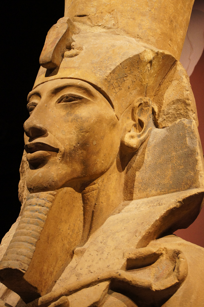 egyptian kingdom the statue of akhenaten The grandest period of ancient egypt was dynasty 18 (1549-1298 bce) this was early in the new kingdom, the period of empire for the egyptians a number of powerful empires were rising in the near east at this time, but egypt was one of the most formidable.