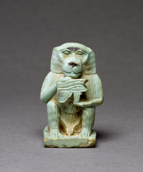 Egyptian_-_Thoth-Baboon_-_Walters_4815